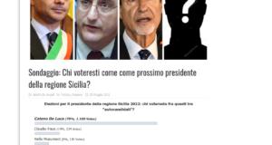 """Musumeci si autoricandida e attacca: """"De Luca? Mi occupo di cose serie"""". Il sindaco di Messina risponde: """"ti lancio una sfida, facciamo un sondaggio, chi perde si ritira!"""""""