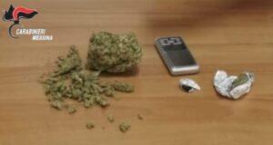 Nascondeva la droga in casa: scattano le manette per un 51enne di Torregrotta
