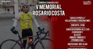 Villafranca Tirrena: V edizione del Memorial Rosario Costa organizzato dal Team Nibali