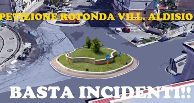 Basta incidenti! Da domani raccolta firme per la realizzazione della rotatoria al rione Aldisio