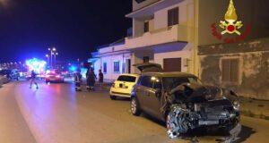 Incidenti stradali a Terme Vigliatore e Barcellona P.G.: ferito trasportato in elisoccorso