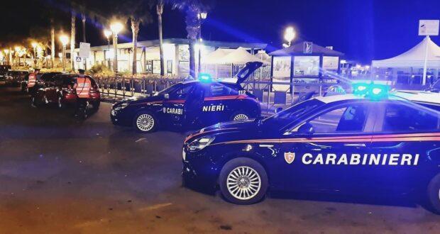 """Milazzo, controlli dei carabinieri alla """"movida"""": 4 giovani denunciati per aggressione ad un minore"""
