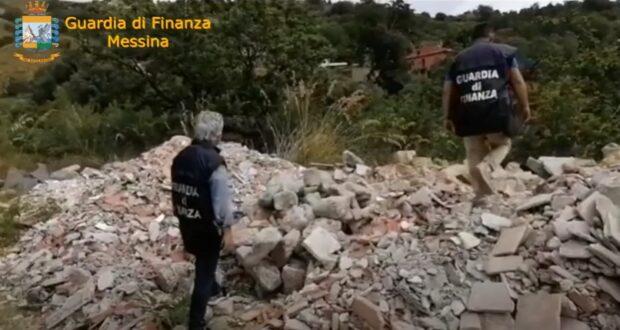 Castelmola: sequestrata discarica abusiva di oltre 7000 mq². Falde acquifere in pericolo (VIDEO)