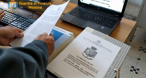 Messina: la Guardia di Finanza sequestra 3,5 milioni di euro ad una società maltese con sede in città per raccolta abusiva di scommesse on line (VIDEO)