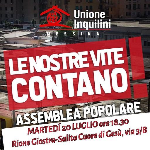 Sbaraccamento e assegnazione abitazioni: assemblea popolare organizzata dall'unione inquilini di Messina