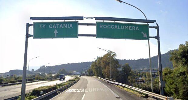 Autostrada Messina-Catania, questa notte chiuso il tratto da Roccalumera a Taormina per tre ore