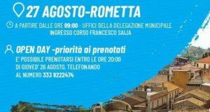 Covid Rometta Marea: domani Open Day Vaccinale presso la Delegazione Comunale