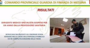 Operazione della guardia di finanza: sospeso medico per un anno dalla professione sanitaria (VIDEO)