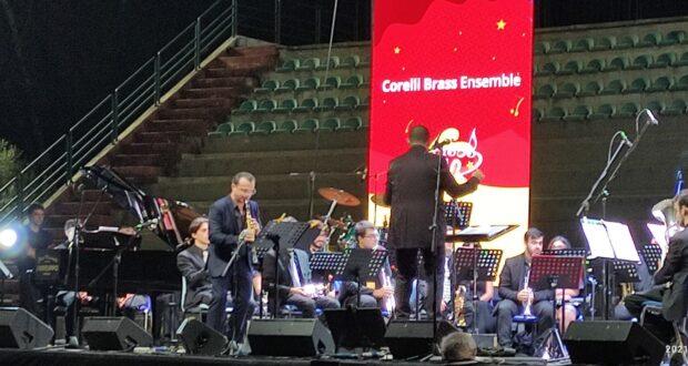 """Cateno De Luca dopo il concerto alla villa Dante: """"Il mio modesto contributo per dare una svolta artistica e sociale alla nostra città"""""""