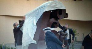 Rometta: momenti toccanti per l'inaugurazione della statua dedicata ad Aurelio Visalli