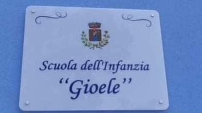 Venetico, Scuola dell'Infanzia intitolata al piccolo Gioele Mondello