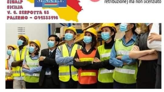 """Sinalp difende i lavoratori: """"Nessuno rimanga senza stipendio per colpa del Green Pass"""""""