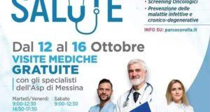 """Al Parco Corolla di Milazzo visite mediche gratuite nel """"Villaggio della Salute"""""""